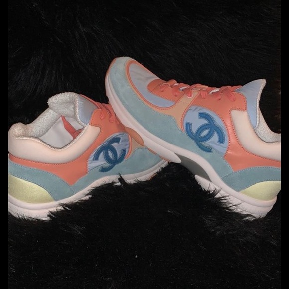 CHANEL Shoes   Chanel Easter Pastel